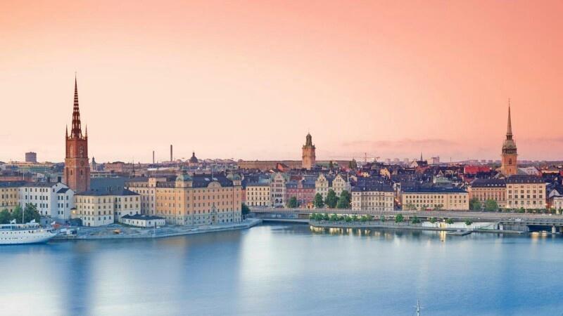 Швеция  карта флаг климат достопримечательности и отдых в швеции