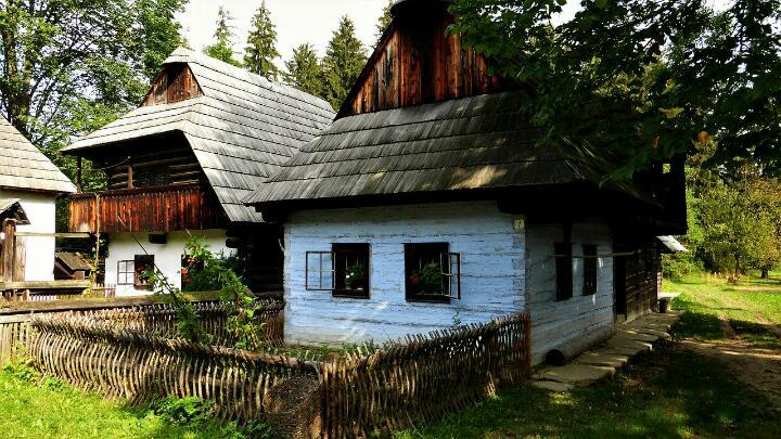 Традиционная венгерская деревня