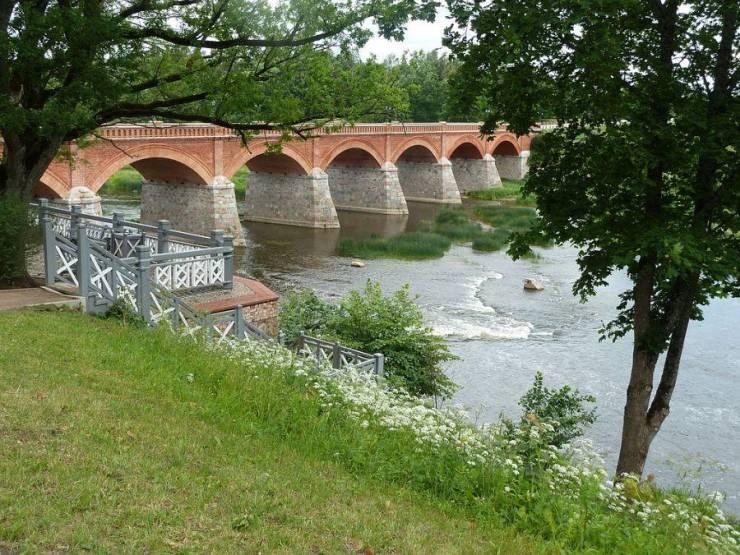 Кирпичный мост в Кулдиге  Кулдига, Латвия 1024px Ventas rumba 8