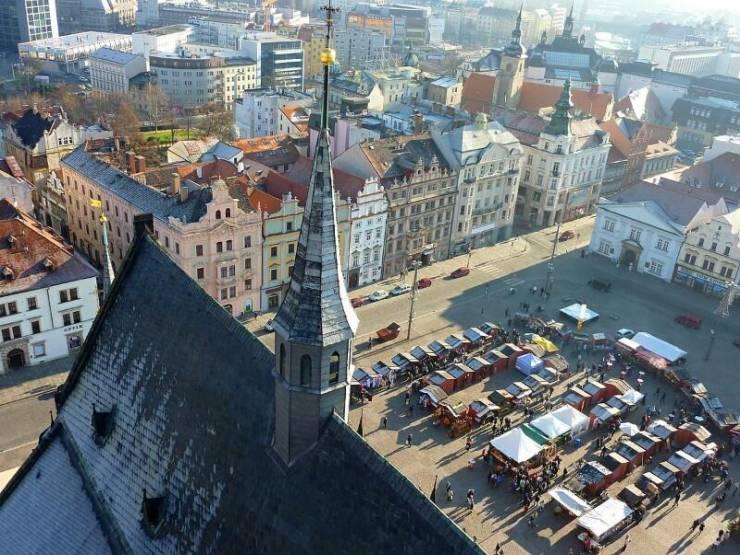 Пльзень - пивная столица Чехии