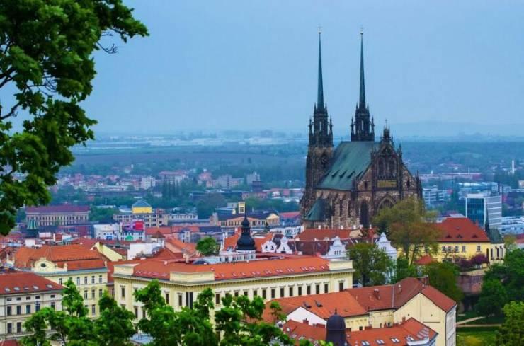 Брно - второй город Чехии