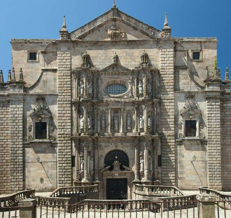 Церковь и монастырь Сан-Мартиньо-Пинарио