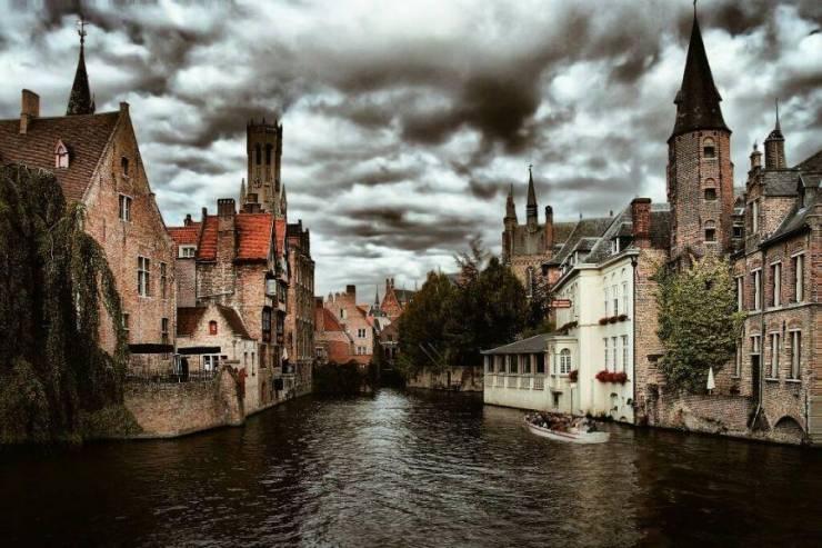 Брюгге. Старый город