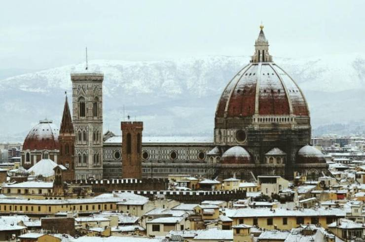 Зима во Флоренции