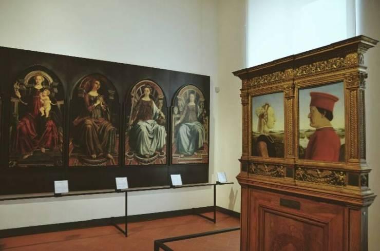 Шедевры галереи Уфицци