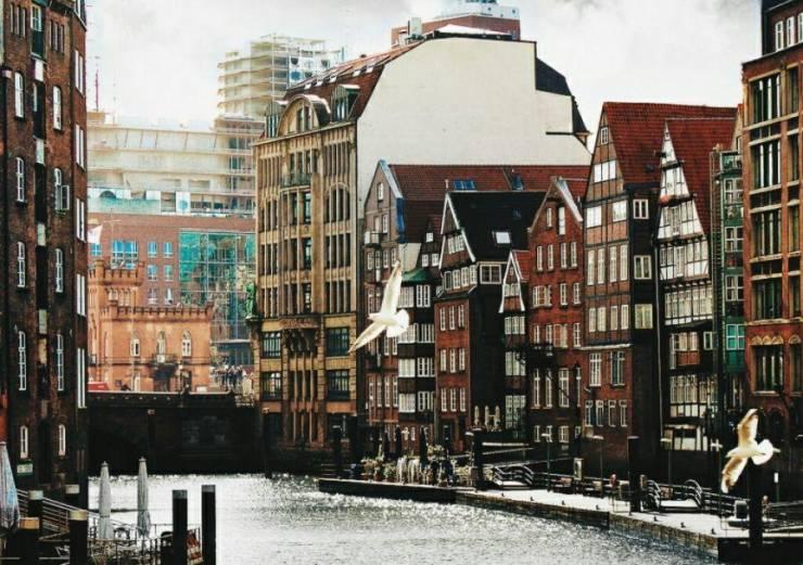 Исторический центр Гамбурга