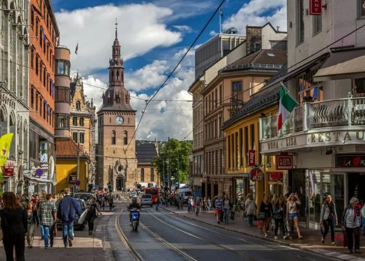 Норвегия столица осло доклад 8962