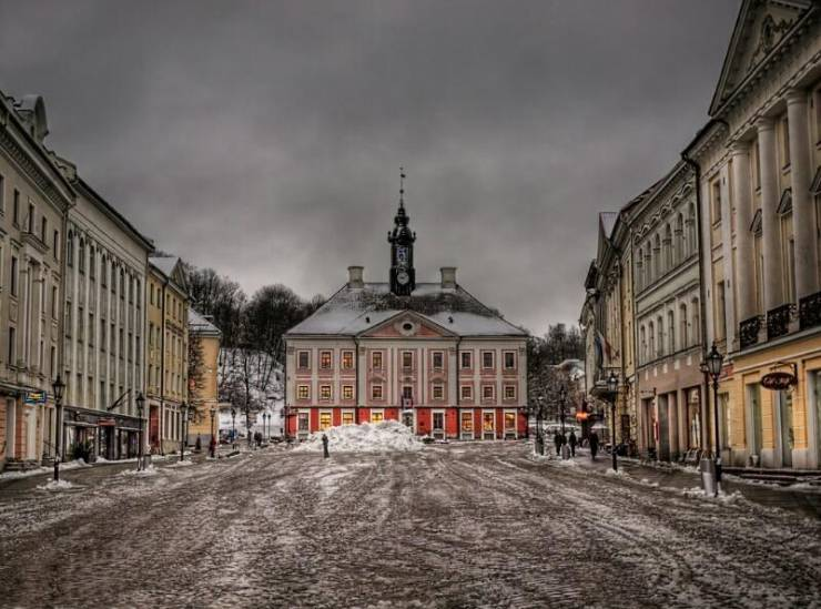 Исторический центр Тарту