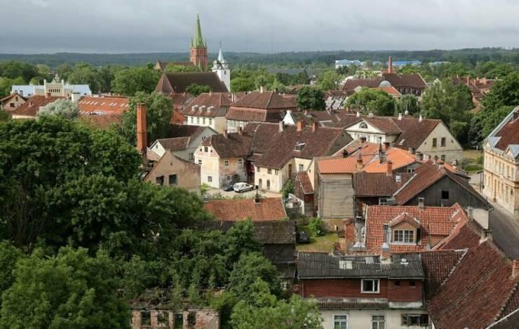 Панорама исторического центра Кулдиги  Кулдига, Латвия 5c51059628fee86198 78824882 900x571
