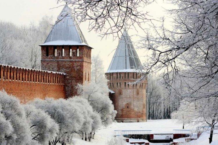 Смоленск зимой