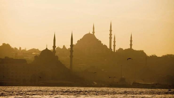 Стамбул утром