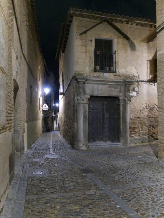 Ночные улочки Толедо