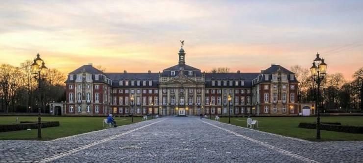 Главный корпус Вестфальского университета