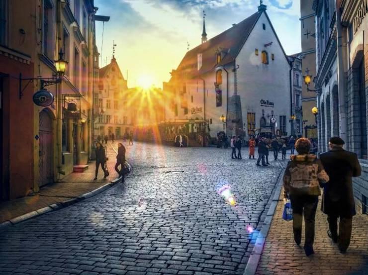 Улицы Старого Таллина