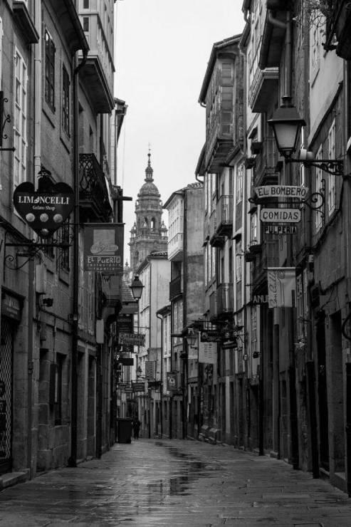 Старинные улочки Сантьяго-де-Компостела