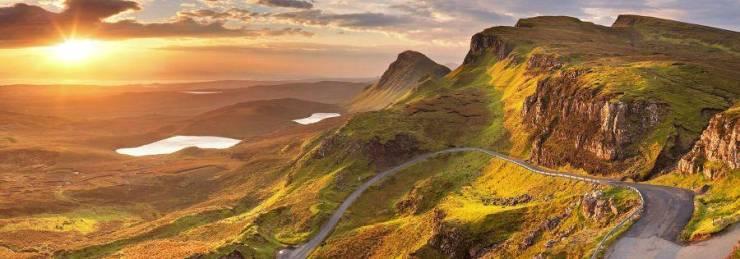 Горные пейзажи Шотландии