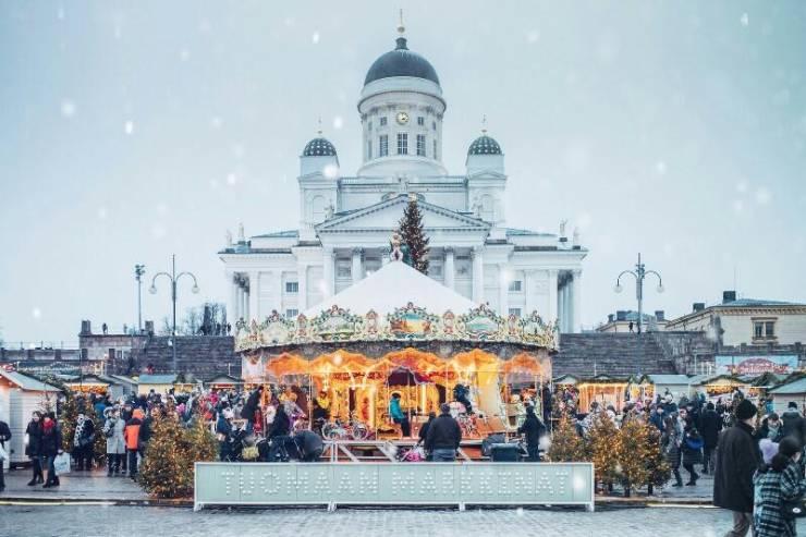 Рыночная площадь в Хельсинки