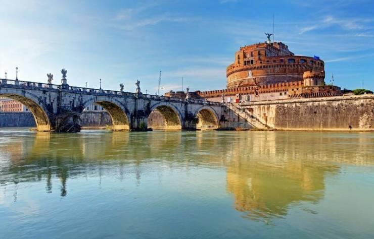 Река Тибр (Рим)