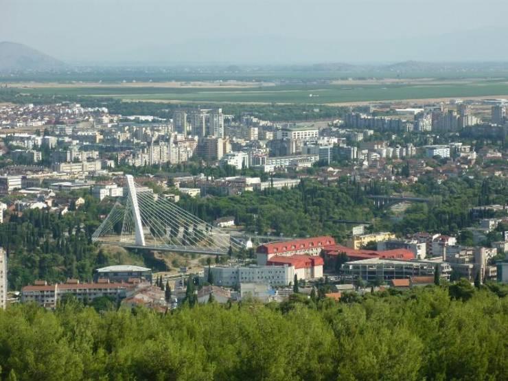 Панорама Подгорицы