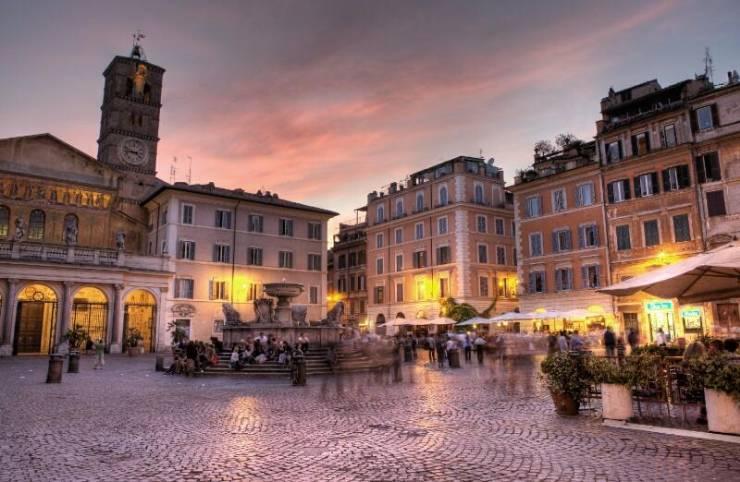 Трастевере - очаровательный район в Риме
