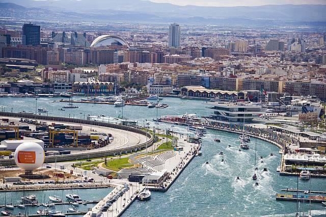 Панорама Валенсии