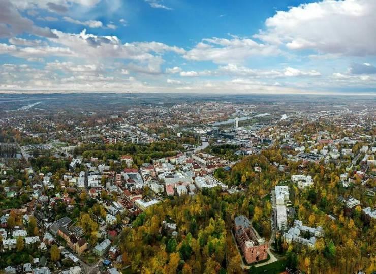 Панорама Тарту