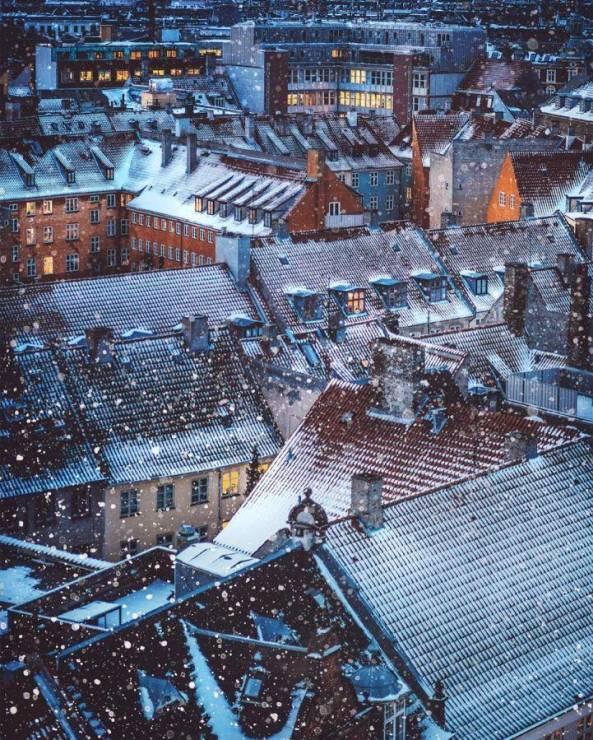 Зима в Копенгагене