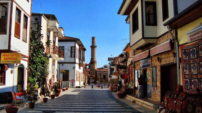 Старый город Антальи - Калеичи