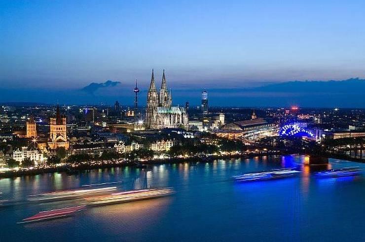 Кёльн - вид на Рейн