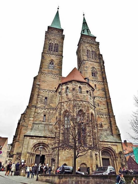 Церковь св. Себальда в Нюрнберге