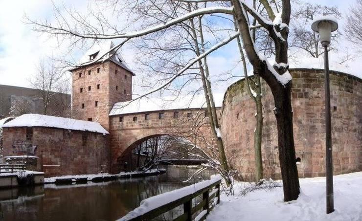Городские стены Нюрнберга