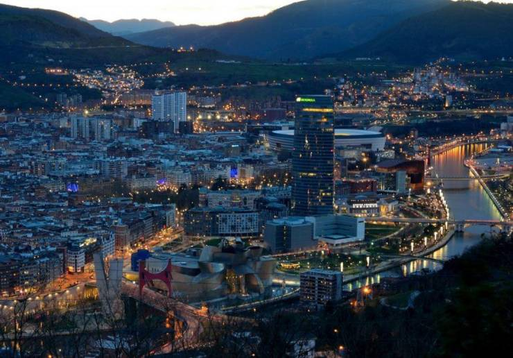 Панорама Бильбао