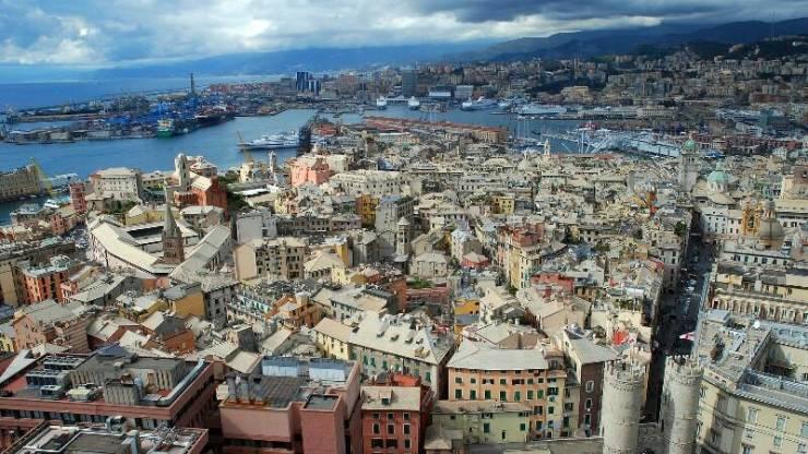 Панорама Генуи