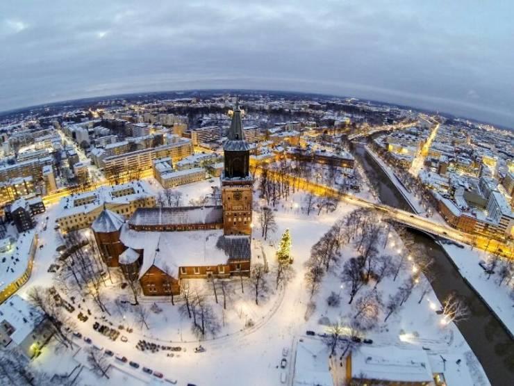 Зима в Турку