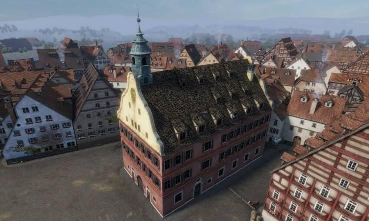 Средневековая модель города