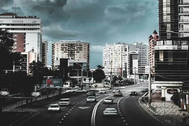 Кубанская набережная. Фото - @urbanblacck